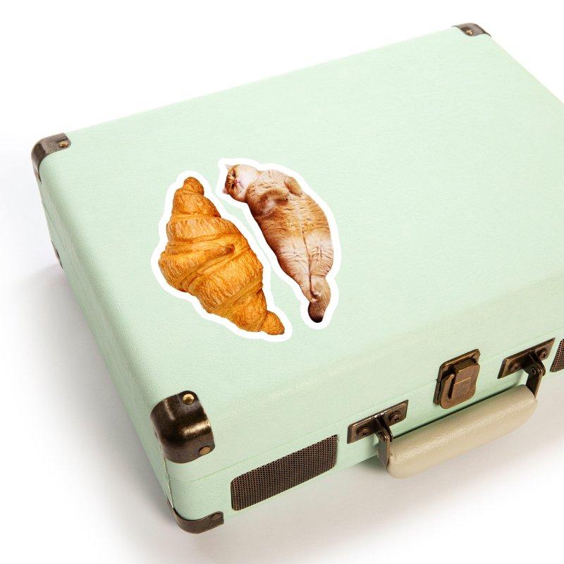 Croissant Accessories Sticker by Hosico's Shop