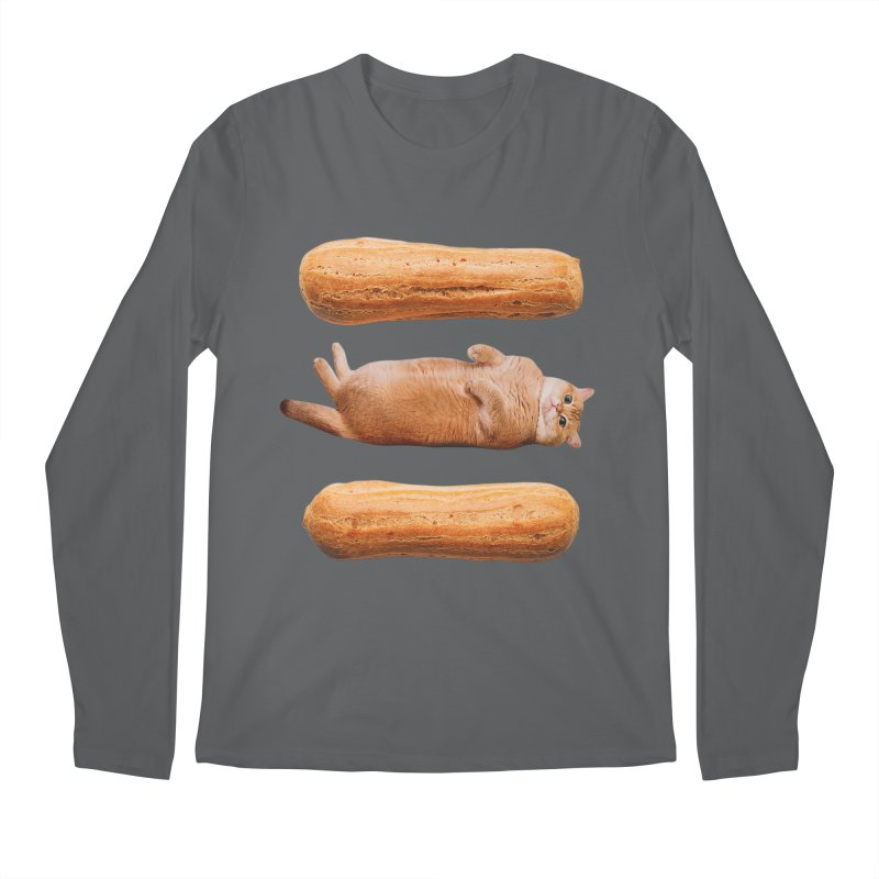 Hosico & Eclairs Men's Longsleeve T-Shirt by Hosico's Shop