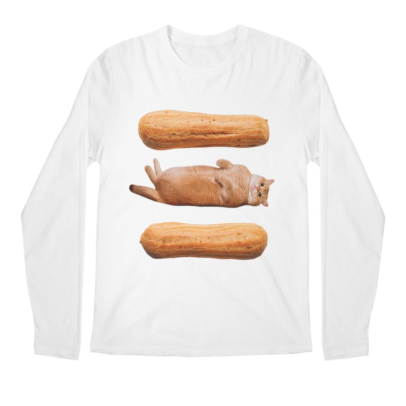 Hosico & Eclairs Men's Regular Longsleeve T-Shirt by Hosico's Shop