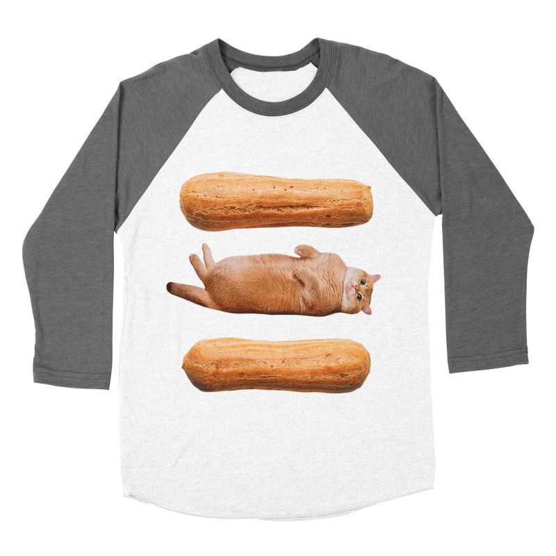 Hosico & Eclairs Women's Baseball Triblend Longsleeve T-Shirt by Hosico's Shop