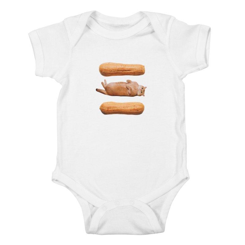 Hosico & Eclairs Kids Baby Bodysuit by Hosico's Shop
