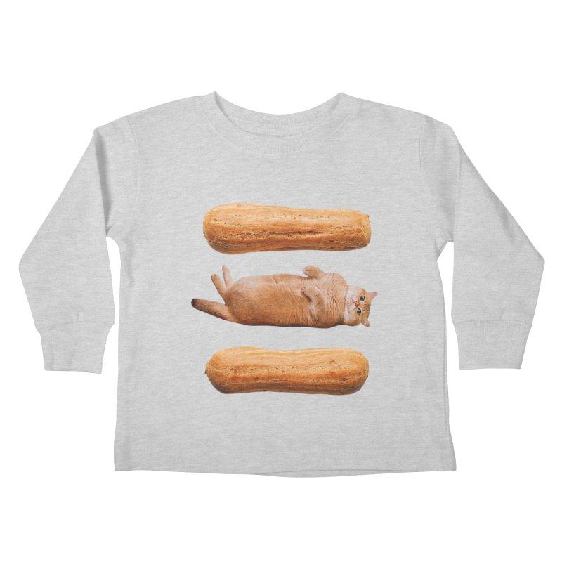 Hosico & Eclairs Kids Toddler Longsleeve T-Shirt by Hosico's Shop