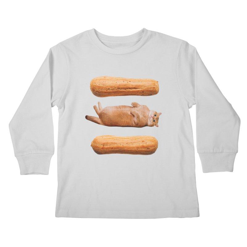 Hosico & Eclairs Kids Longsleeve T-Shirt by Hosico's Shop