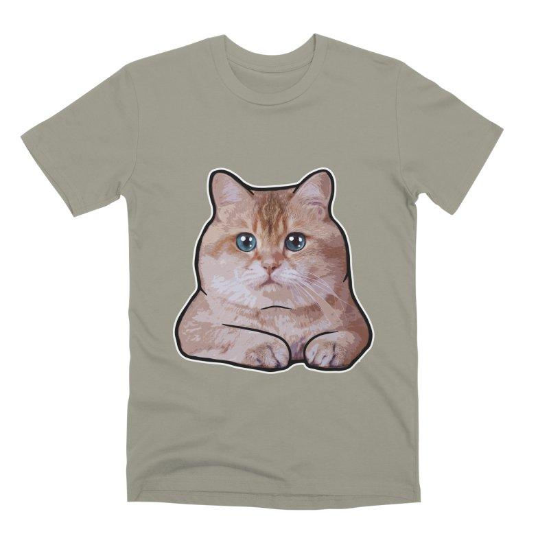 Hosico Cat Men's Premium T-Shirt by Hosico's Shop