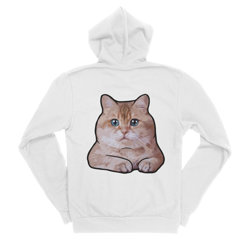 Hosico Cat Women's Sponge Fleece Zip-Up Hoody by Hosico's Shop