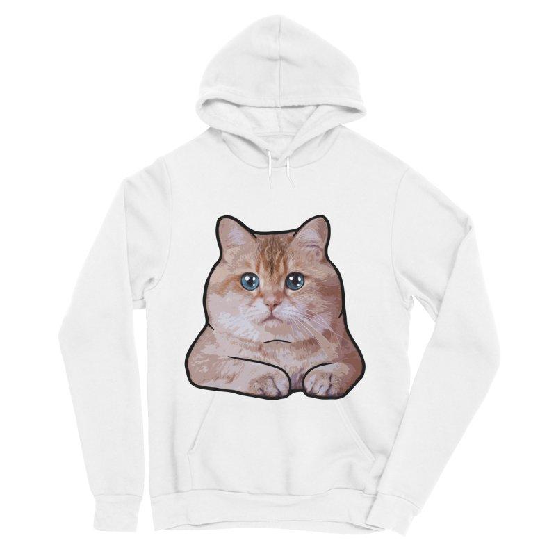 Hosico Cat Men's Sponge Fleece Pullover Hoody by Hosico's Shop