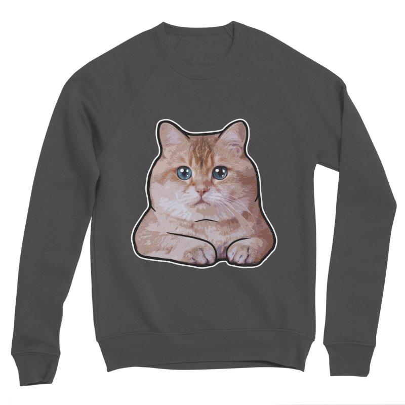 Hosico Cat Men's Sponge Fleece Sweatshirt by Hosico's Shop