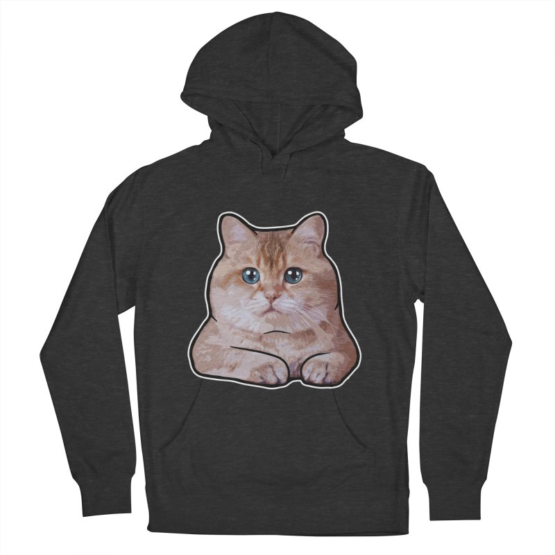 Hosico Cat Men's French Terry Pullover Hoody by Hosico's Shop
