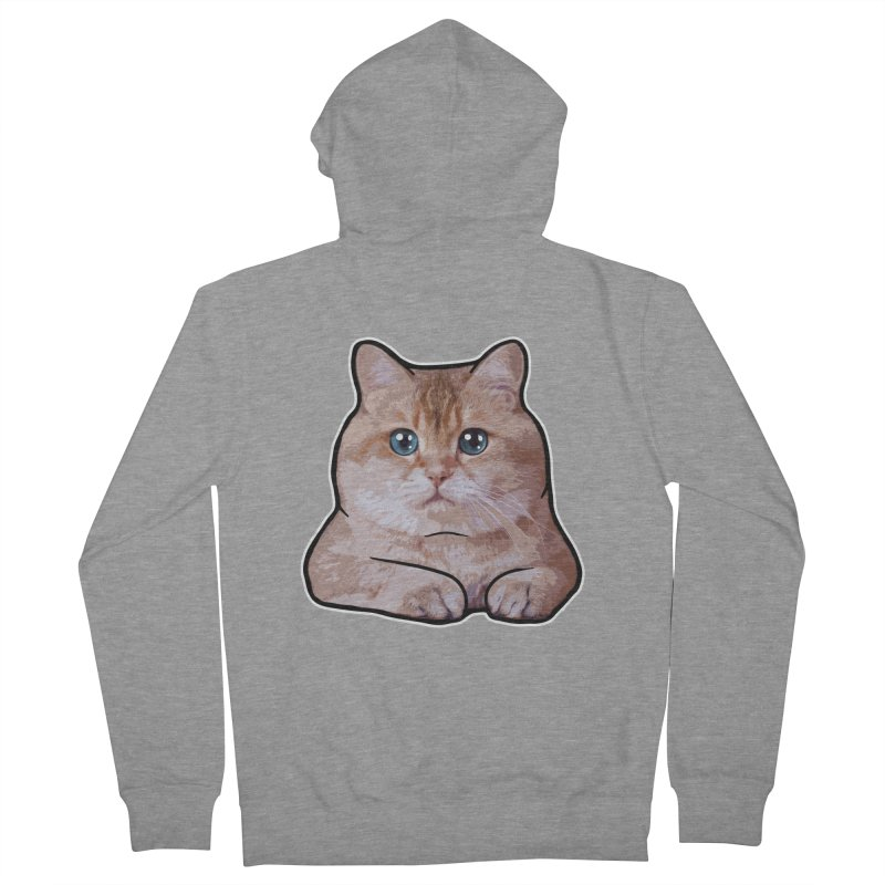 Hosico Cat Women's French Terry Zip-Up Hoody by Hosico's Shop