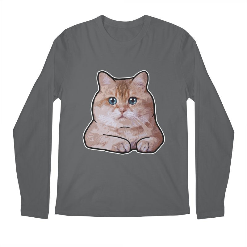 Hosico Cat Men's Regular Longsleeve T-Shirt by Hosico's Shop