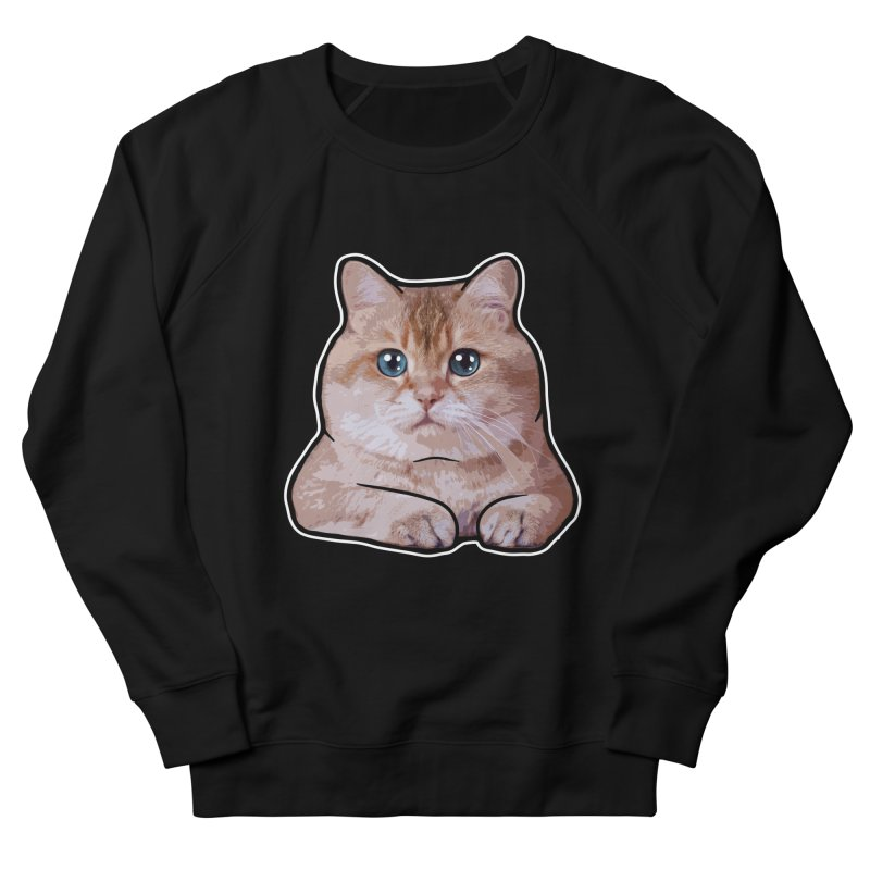 Hosico Cat Women's French Terry Sweatshirt by Hosico's Shop