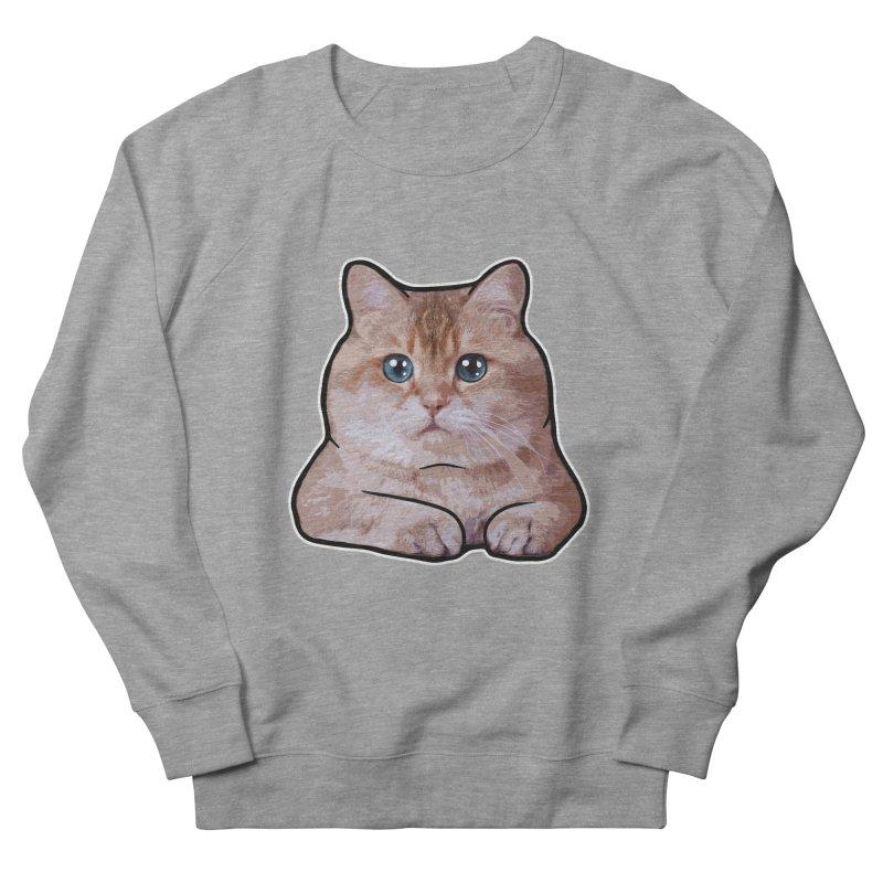 Hosico Cat Men's French Terry Sweatshirt by Hosico's Shop