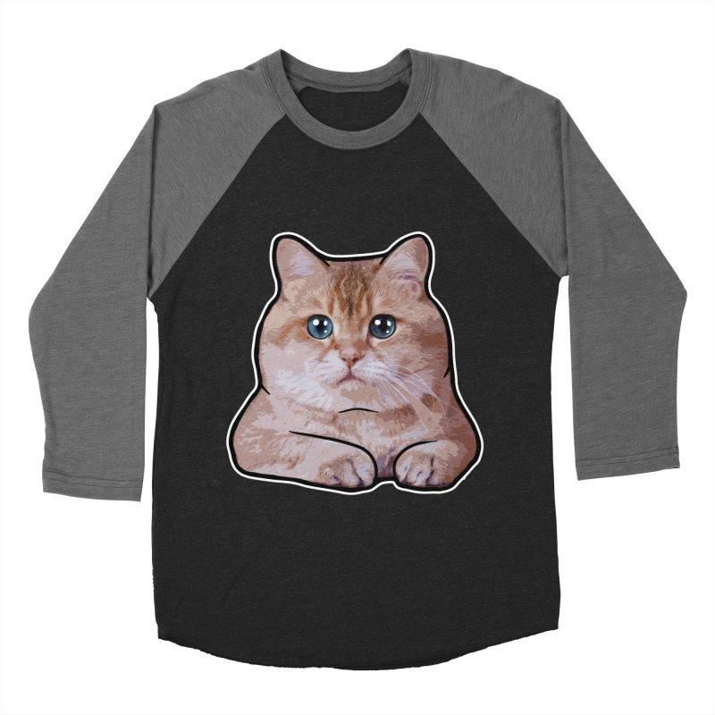 Hosico Cat Women's Baseball Triblend Longsleeve T-Shirt by Hosico's Shop