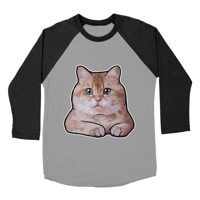 Hosico Cat Women's Baseball Triblend Longsleeve T-Shirt by Hosico's Shop
