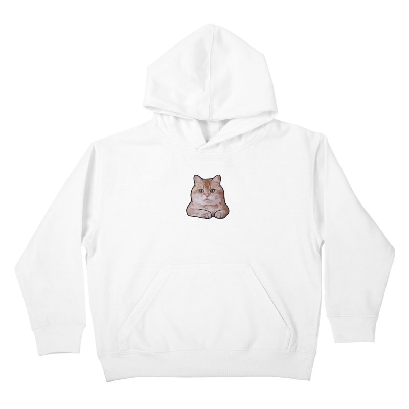 Hosico Cat Kids Pullover Hoody by Hosico's Shop