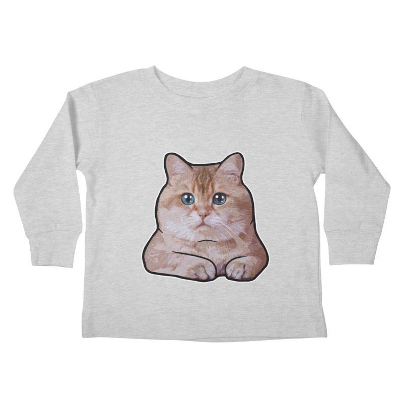 Hosico Cat Kids Toddler Longsleeve T-Shirt by Hosico's Shop