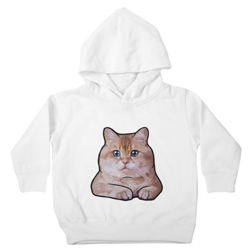 Hosico Cat Kids Toddler Pullover Hoody by Hosico's Shop