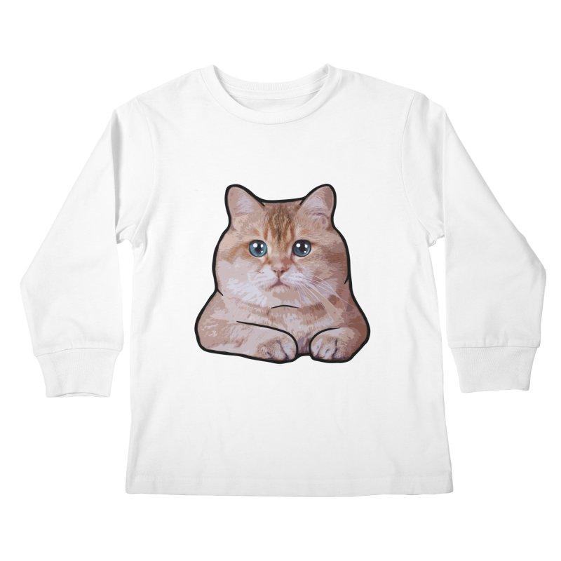 Hosico Cat Kids Longsleeve T-Shirt by Hosico's Shop