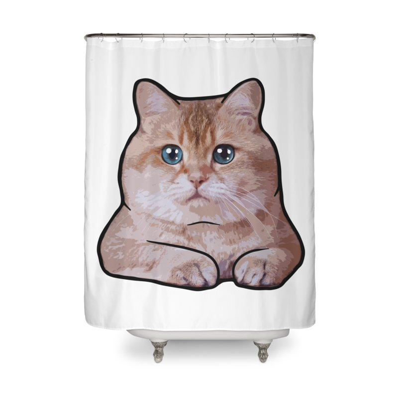 Hosico Cat Home Shower Curtain by Hosico's Shop