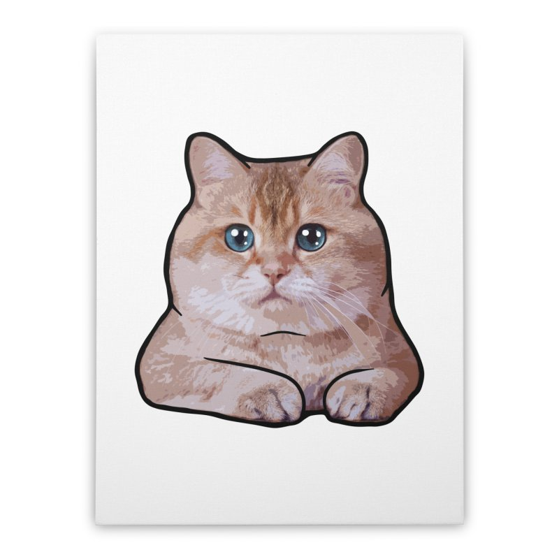 Hosico Cat Home Stretched Canvas by Hosico's Shop