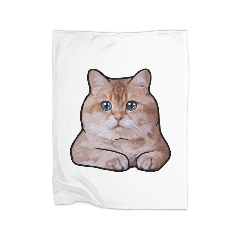 Hosico Cat Home Fleece Blanket Blanket by Hosico's Shop