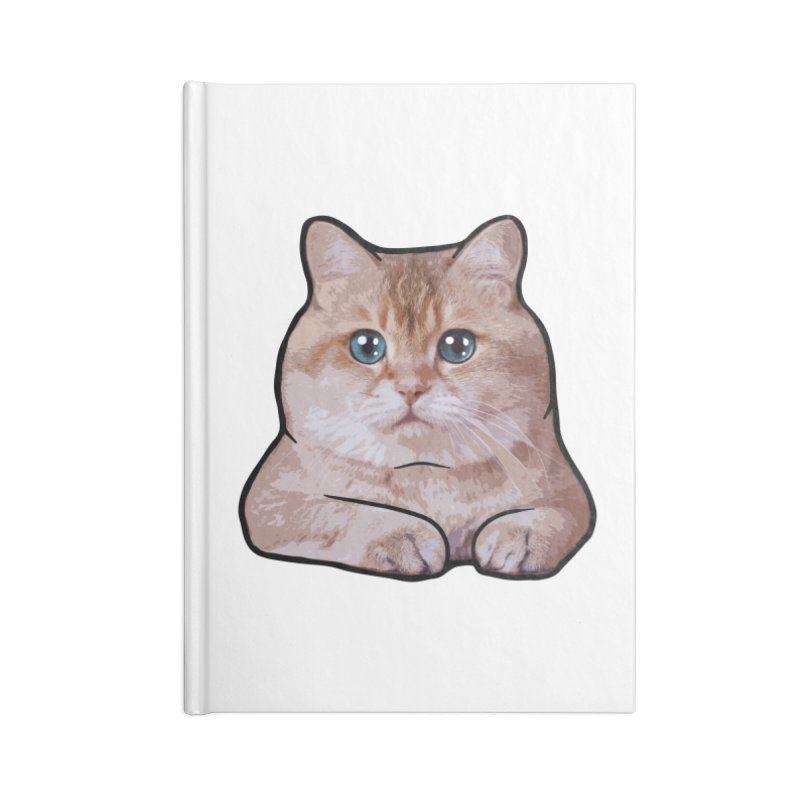 Hosico Cat Accessories Lined Journal Notebook by Hosico's Shop