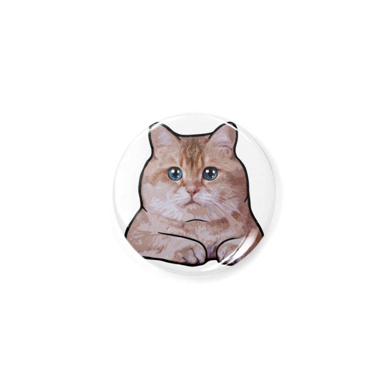 Hosico Cat Accessories Button by Hosico's Shop