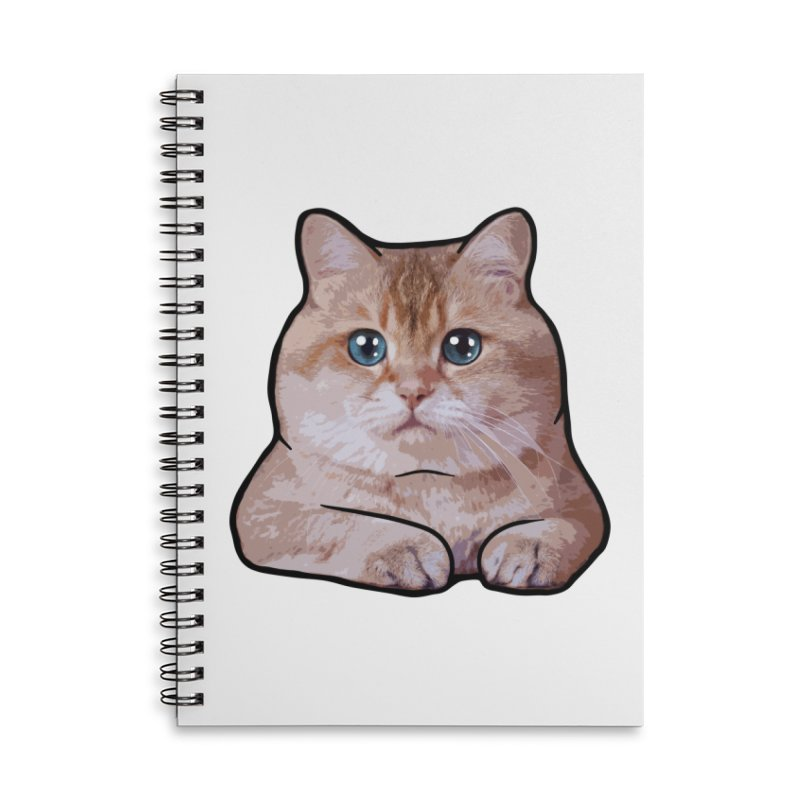 Hosico Cat Accessories Lined Spiral Notebook by Hosico's Shop