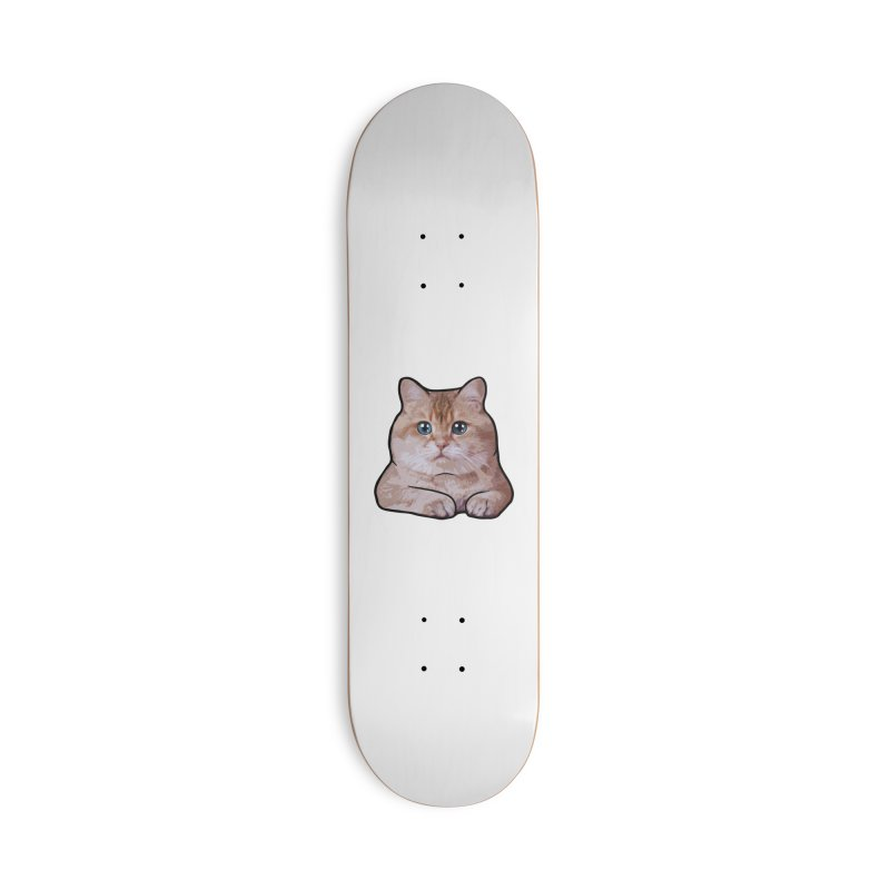 Hosico Cat Accessories Deck Only Skateboard by Hosico's Shop