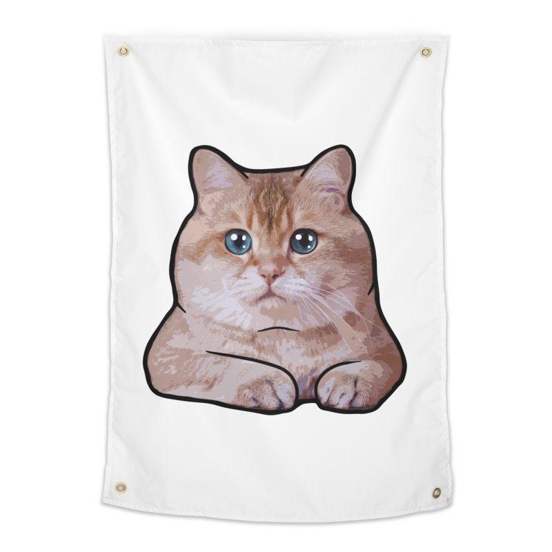 Hosico Cat Home Tapestry by Hosico's Shop