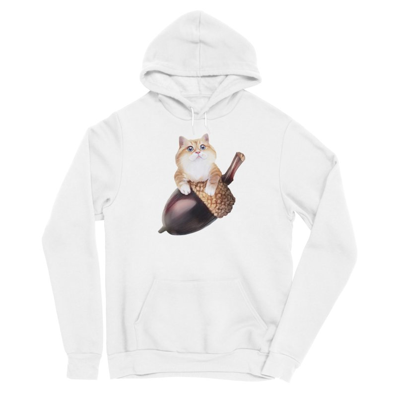 Hosico and acorn Men's Pullover Hoody by Hosico's Shop