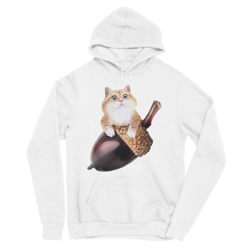 Hosico and acorn Women's Pullover Hoody by Hosico's Shop