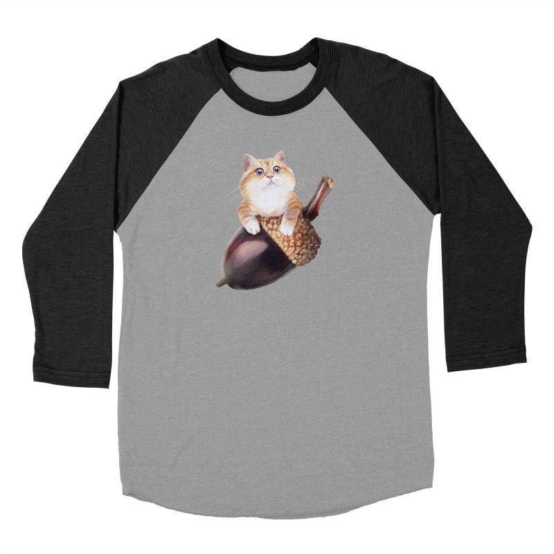 Hosico and acorn Men's Longsleeve T-Shirt by Hosico's Shop