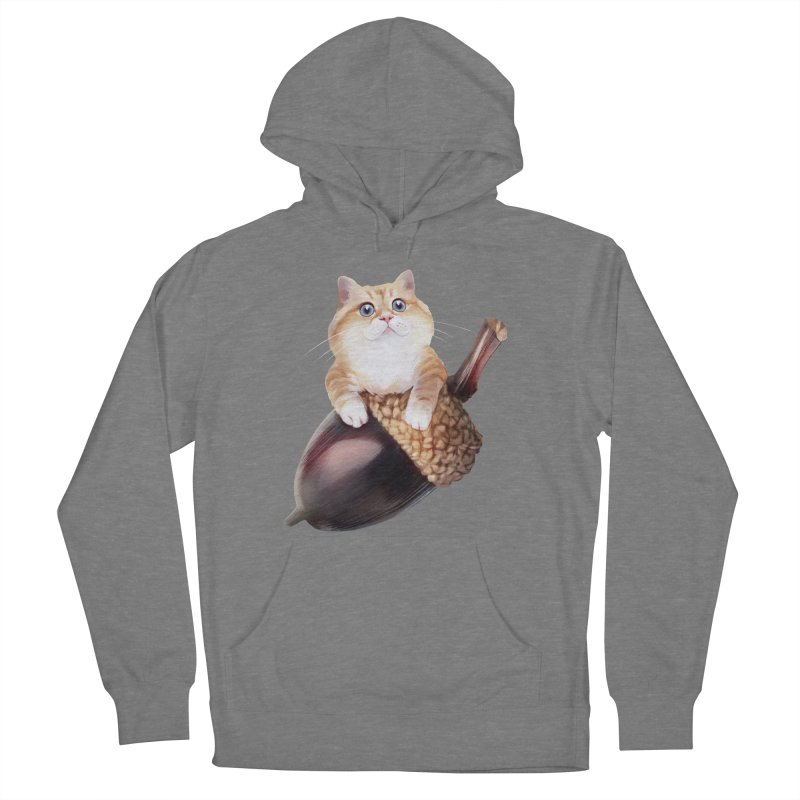 Hosico and acorn Women's French Terry Pullover Hoody by Hosico's Shop