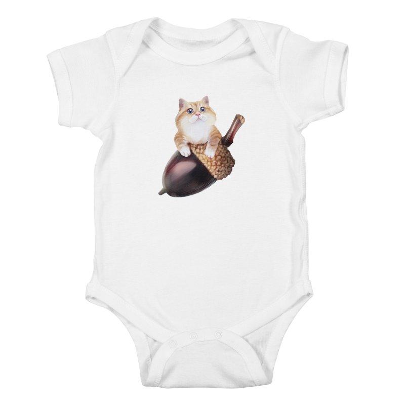 Hosico and acorn Kids Baby Bodysuit by Hosico's Shop