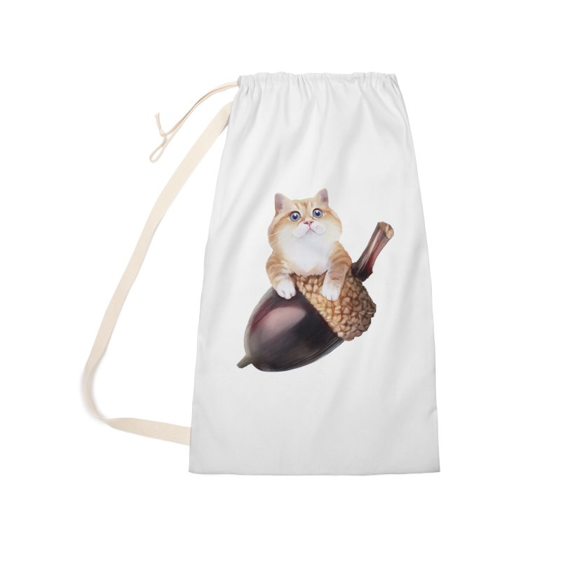 Hosico and acorn Accessories Bag by Hosico's Shop