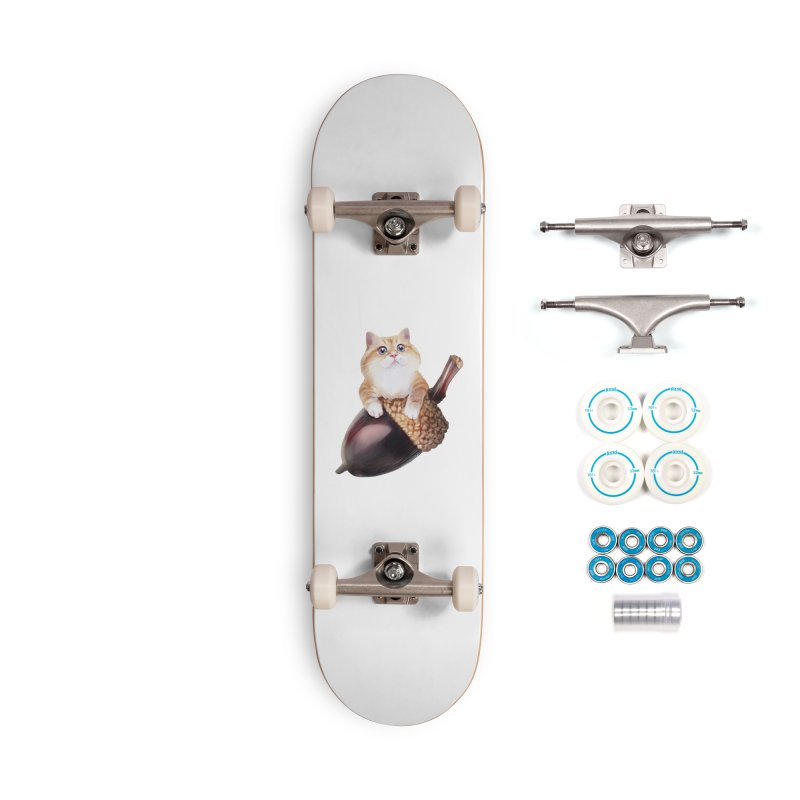 Hosico and acorn Accessories Complete - Basic Skateboard by Hosico's Shop