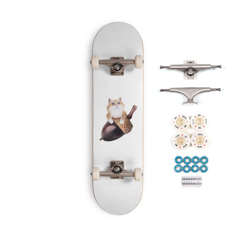 Hosico and acorn Accessories Complete - Premium Skateboard by Hosico's Shop
