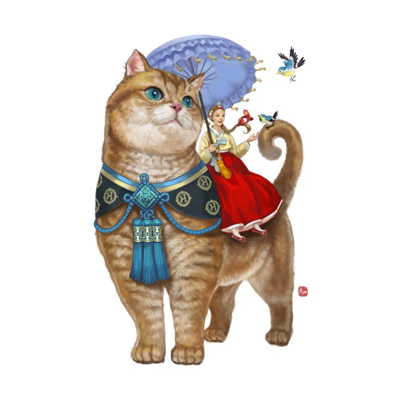 Hosico Hanbok Home Fine Art Print by Hosico's Shop