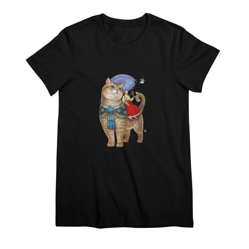 Hosico Hanbok Women's Premium T-Shirt by Hosico's Shop