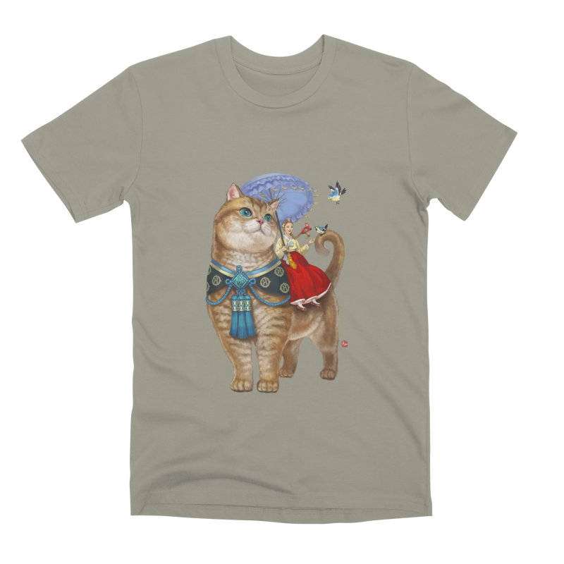 Hosico Hanbok Men's Premium T-Shirt by Hosico's Shop