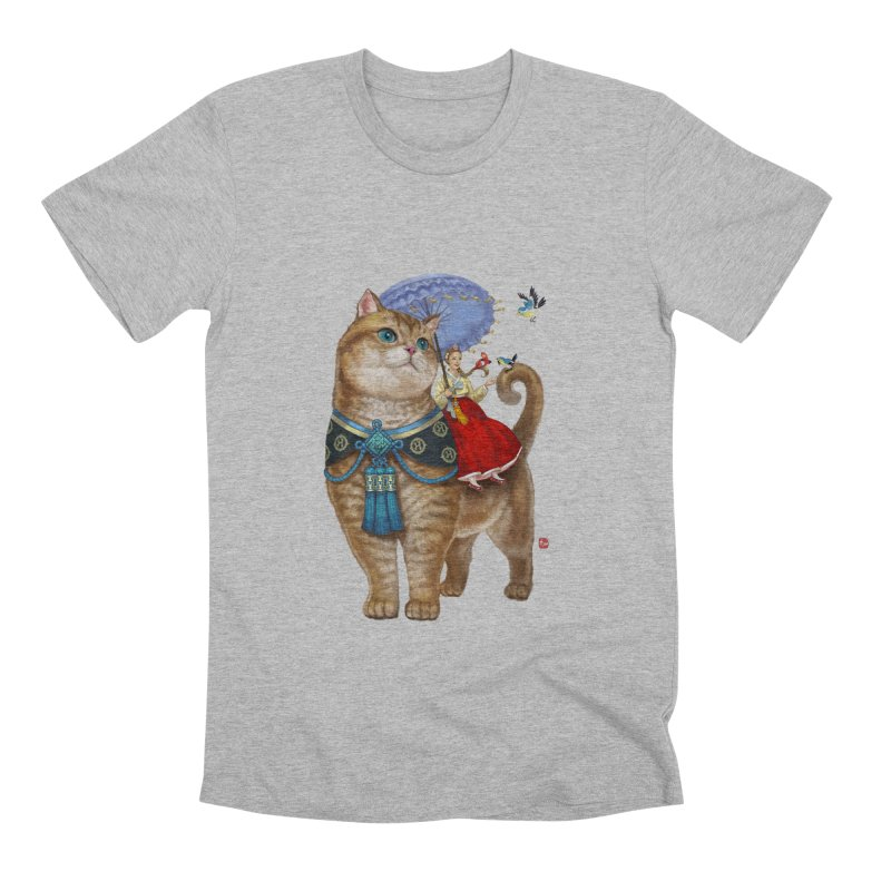 Hosico Hanbok Men's Premium T-Shirt by Hosico's Shop