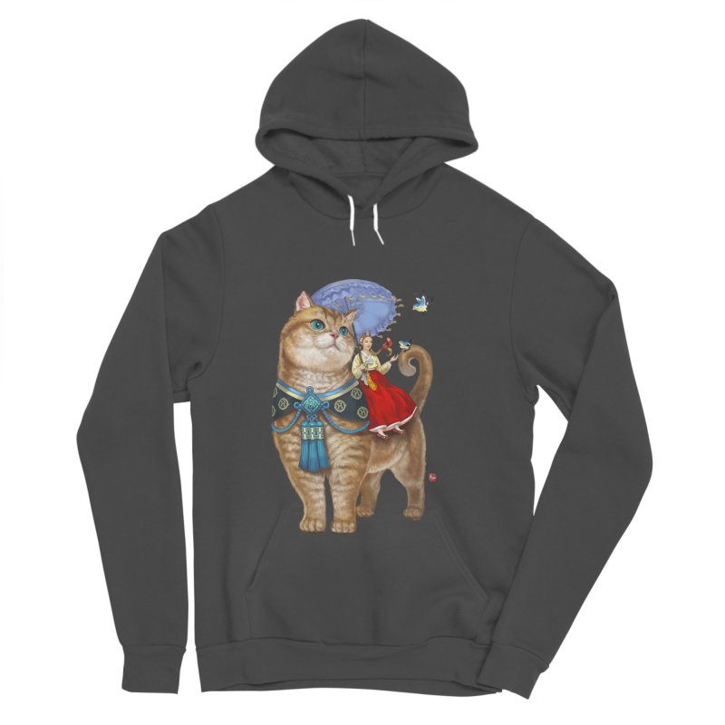 Hosico Hanbok Women's Sponge Fleece Pullover Hoody by Hosico's Shop