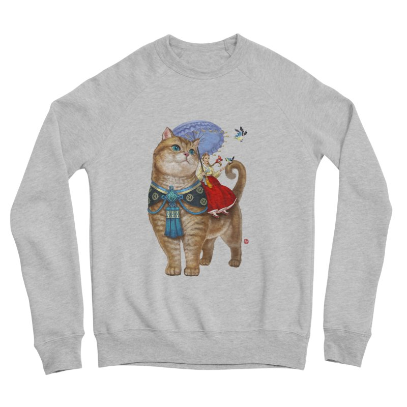 Hosico Hanbok Women's Sponge Fleece Sweatshirt by Hosico's Shop