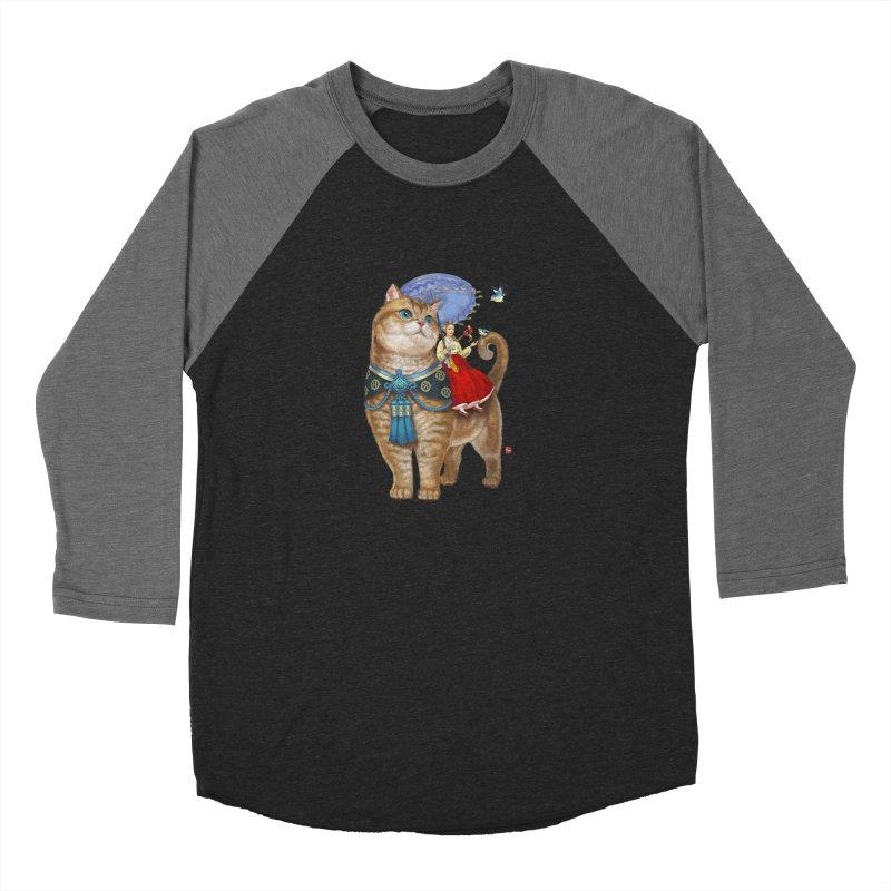 Hosico Hanbok Men's Baseball Triblend Longsleeve T-Shirt by Hosico's Shop