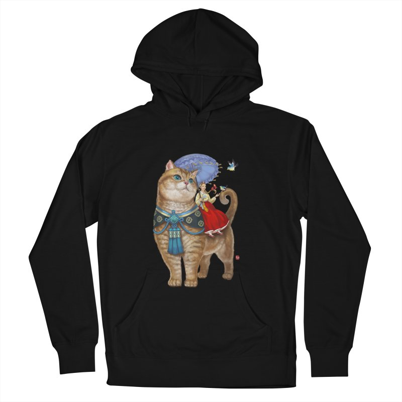 Hosico Hanbok Men's French Terry Pullover Hoody by Hosico's Shop