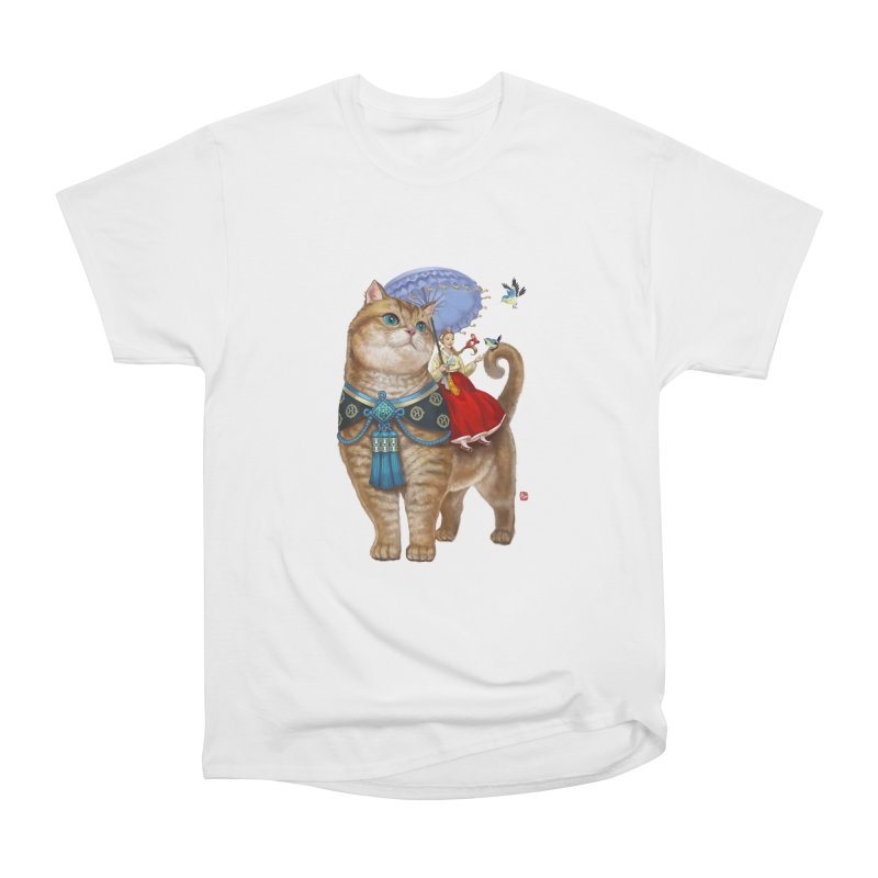 Hosico Hanbok Men's Heavyweight T-Shirt by Hosico's Shop