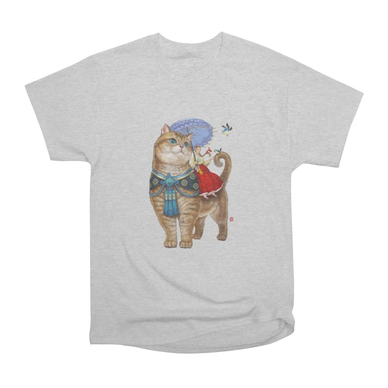 Hosico Hanbok Women's Heavyweight Unisex T-Shirt by Hosico's Shop
