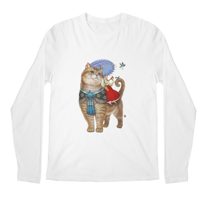 Hosico Hanbok Men's Regular Longsleeve T-Shirt by Hosico's Shop