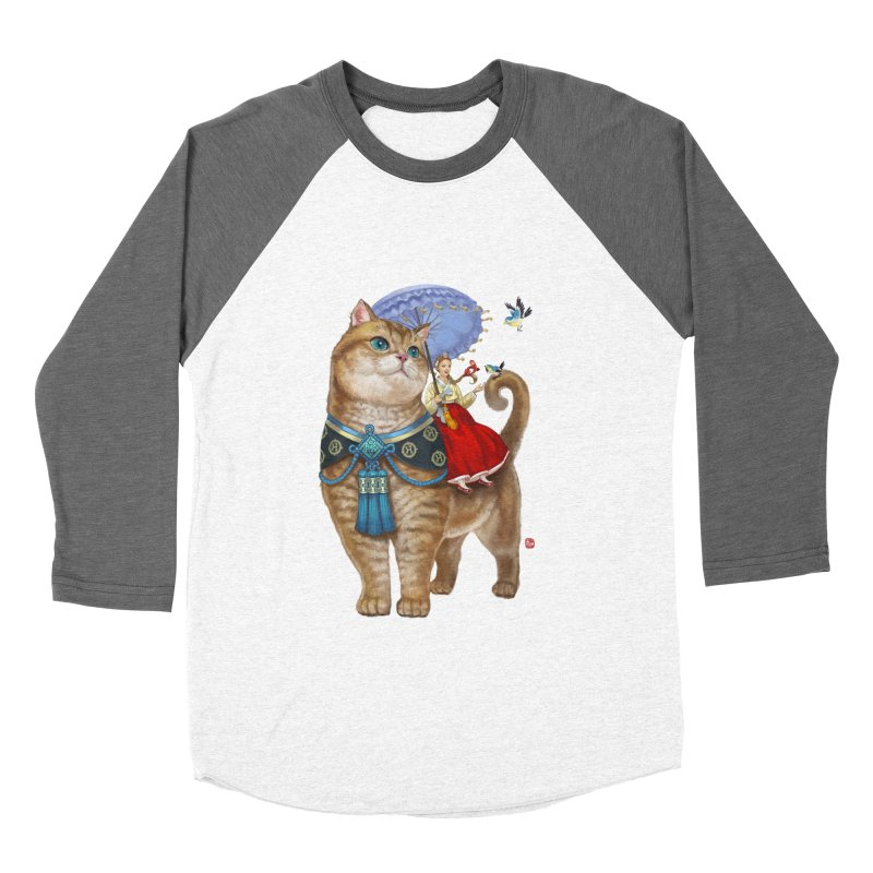 Hosico Hanbok Men's Baseball Triblend Longsleeve T-Shirt by Hosico's Shop